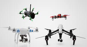 Diversos Tipos de Drones